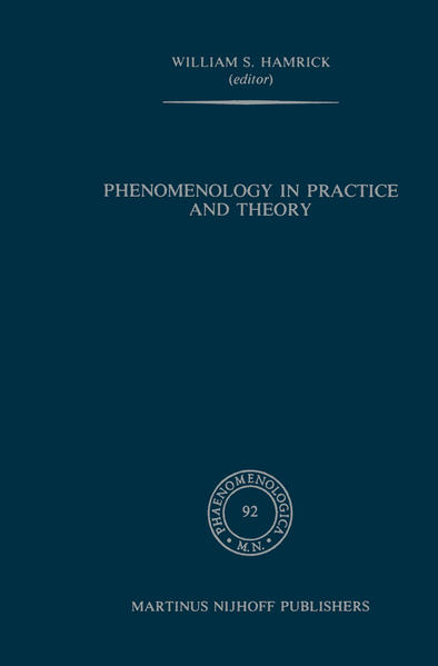 Phenomenology in Practice and Theory - Coverbild
