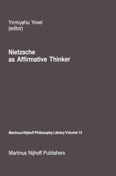 Nietzsche as Affirmative Thinker - Coverbild
