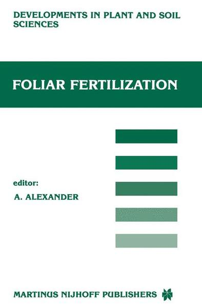 Foliar Fertilization - Coverbild