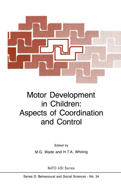 Motor Development in Children: Aspects of Coordination and Control - Coverbild