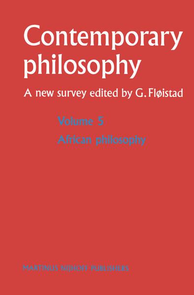African Philosophy - Coverbild