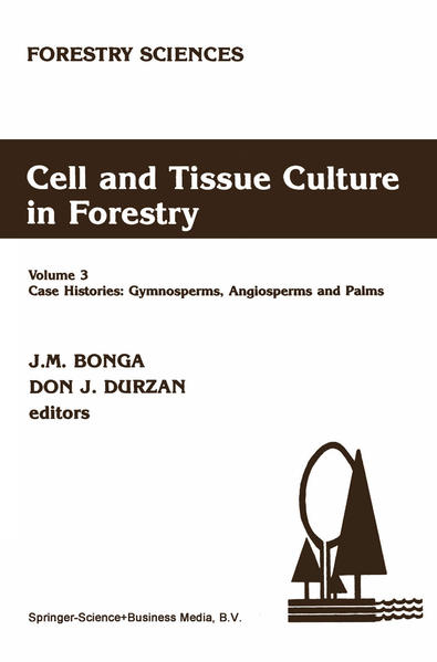 Cell and Tissue Culture in Forestry - Coverbild