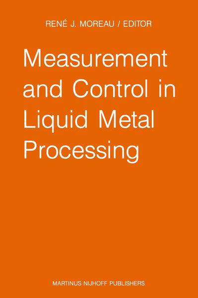 Measurement and Control in Liquid Metal Processing - Coverbild