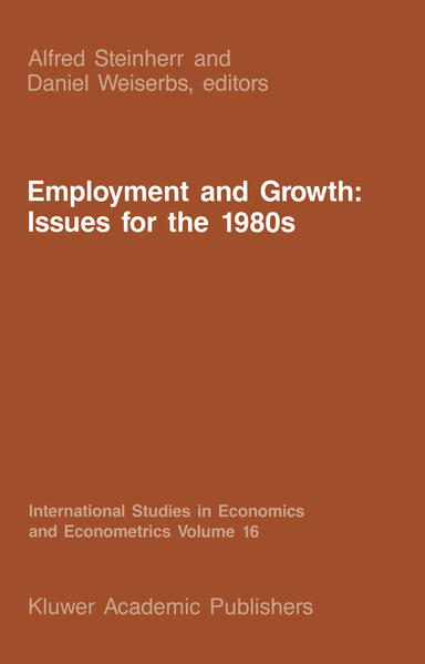 Employment and Growth: Issues for the 1980s - Coverbild