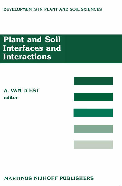 Plant and Soil Interfaces and Interactions - Coverbild