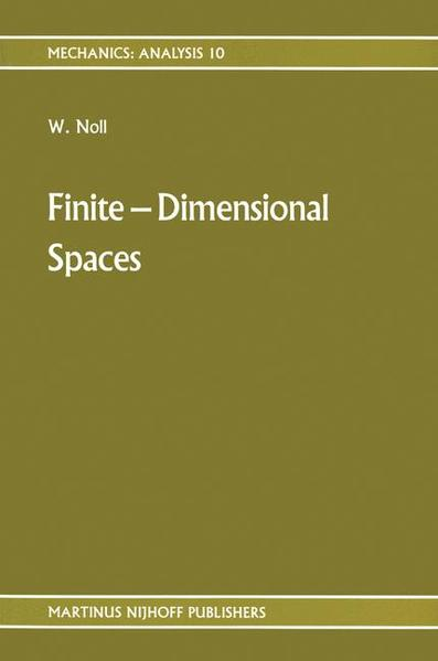 Finite-Dimensional Spaces - Coverbild