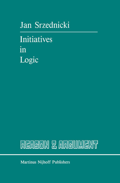 Initiatives in Logic - Coverbild