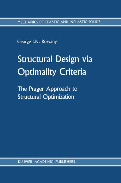 Structural Design via Optimality Criteria - Coverbild