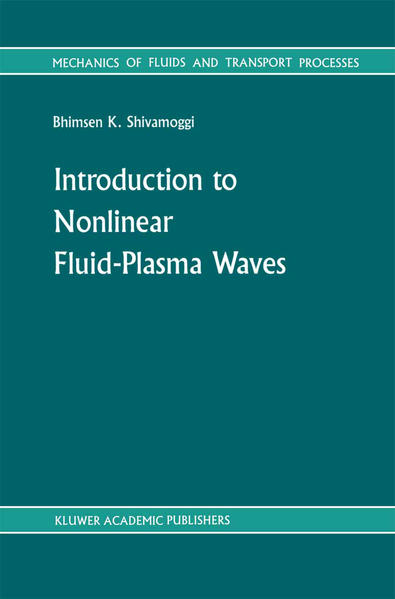 Introduction to Nonlinear Fluid-Plasma Waves - Coverbild