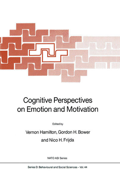 Cognitive Perspectives on Emotion and Motivation - Coverbild
