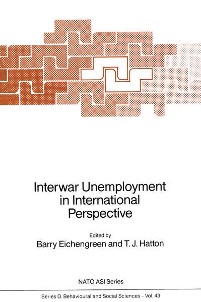 Interwar Unemployment in International Perspective - Coverbild