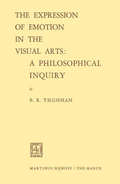 The Expression of Emotion in the Visual Arts: A Philosophical Inquiry - Coverbild