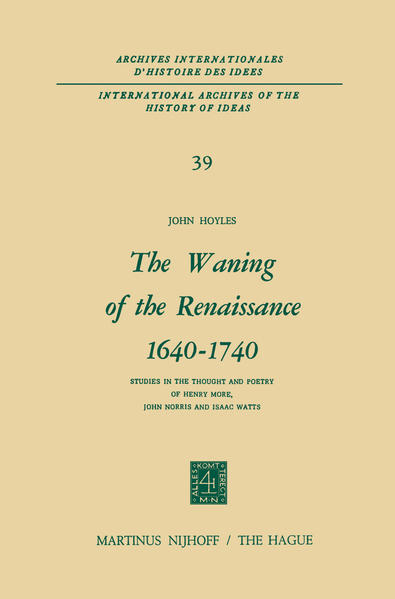 The Waning of the Renaissance 1640–1740 - Coverbild
