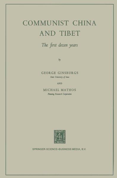 Communist China and Tibet - Coverbild
