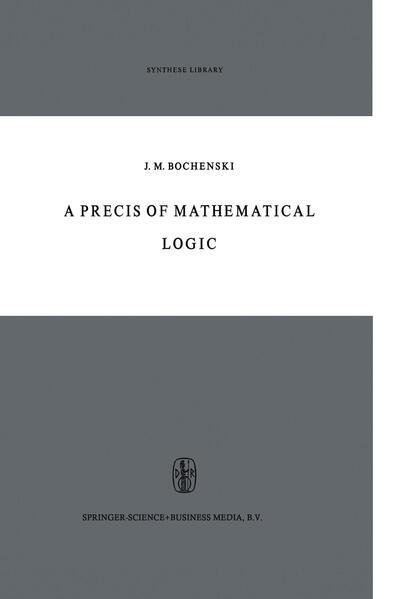 A Precis of Mathematical Logic - Coverbild