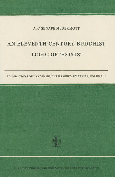An Eleventh-Century Buddhist Logic of 'Exists' - Coverbild