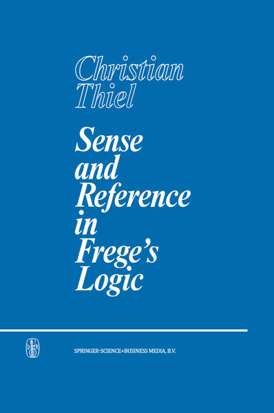 Sense and Reference in Frege's Logic - Coverbild