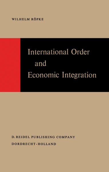 International Order and Economic Integration - Coverbild
