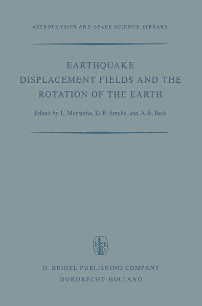 Earthquake Displacement Fields and the Rotation of the Earth - Coverbild