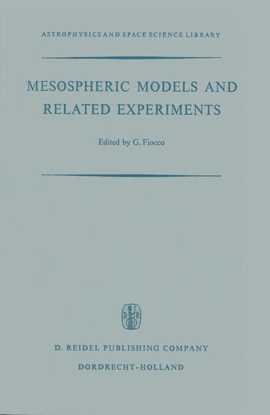 Mesospheric Models and Related Experiments - Coverbild