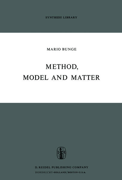Method, Model and Matter - Coverbild