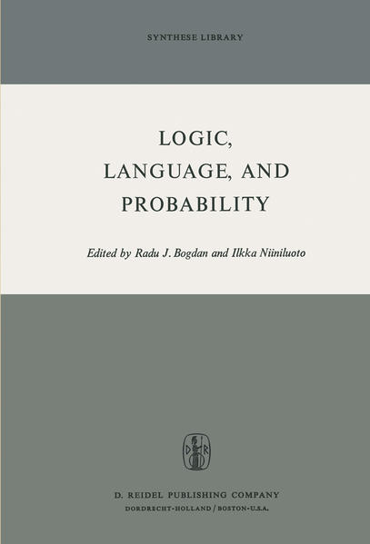 Logic, Language, and Probability - Coverbild
