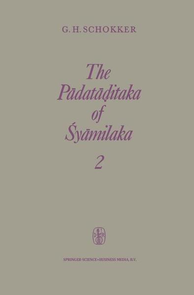 The Padataditaka of Śyamilaka - Coverbild