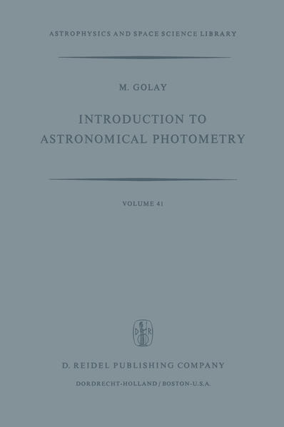 Introduction to Astronomical Photometry - Coverbild
