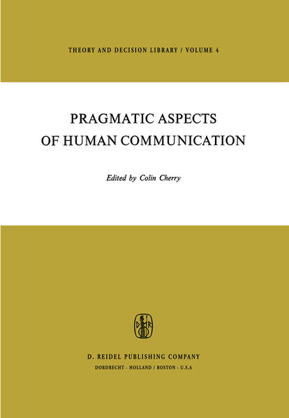 Pragmatic Aspects of Human Communication - Coverbild