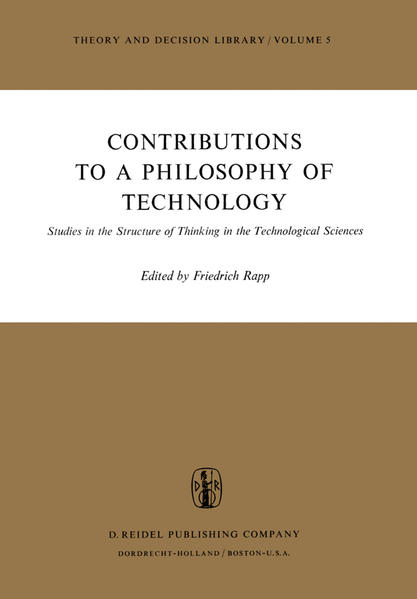 Contributions to a Philosophy of Technology - Coverbild
