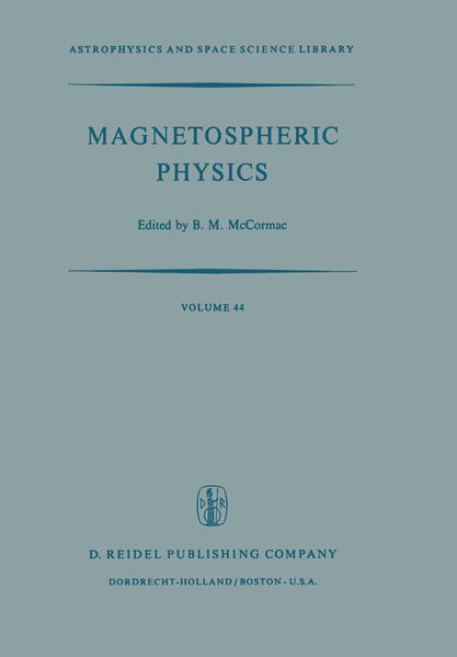 Magnetospheric Physics - Coverbild