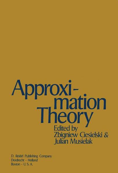 Approximation Theory - Coverbild