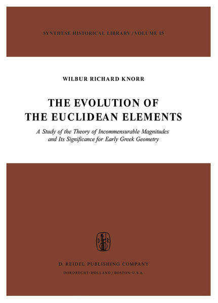 The Evolution of the Euclidean Elements - Coverbild