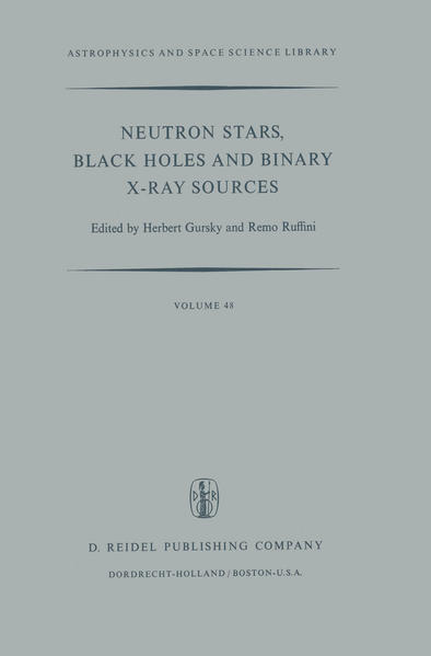 Neutron Stars, Black Holes and Binary X-Ray Sources - Coverbild