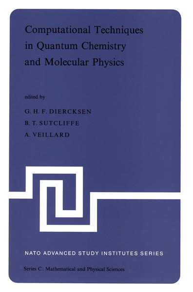 Computational Techniques in Quantum Chemistry and Molecular Physics - Coverbild