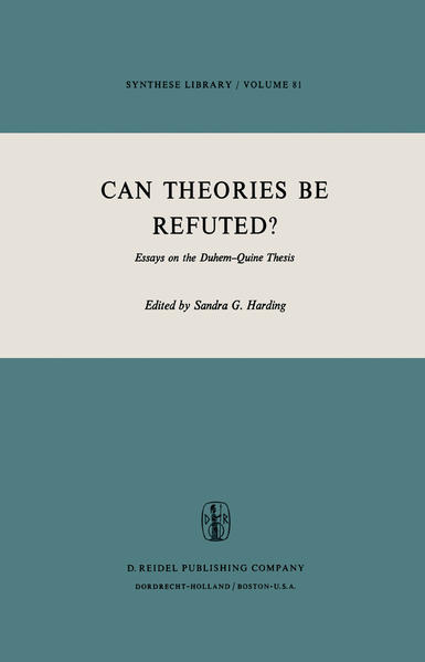 Can Theories be Refuted? - Coverbild