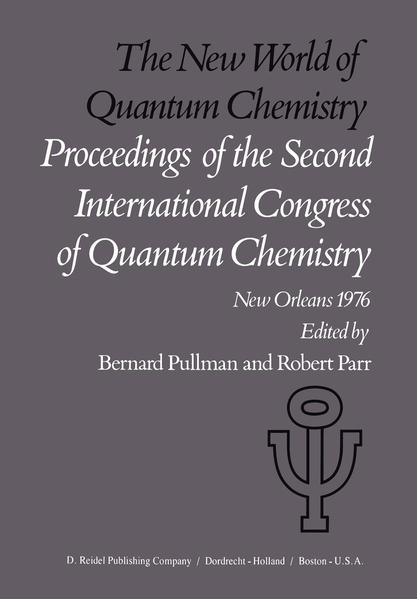 The New World of Quantum Chemistry - Coverbild