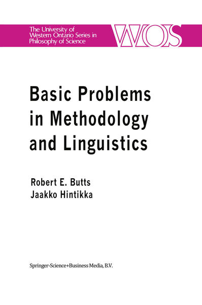 Basic Problems in Methodology and Linguistics - Coverbild