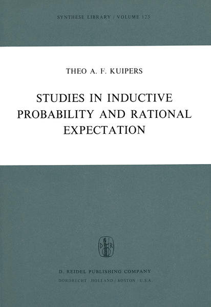 Studies in Inductive Probability and Rational Expectation - Coverbild