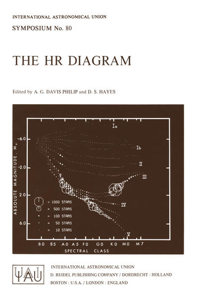 The HR Diagram - Coverbild