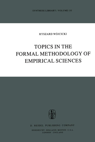 Topics in the Formal Methodology of Empirical Sciences - Coverbild