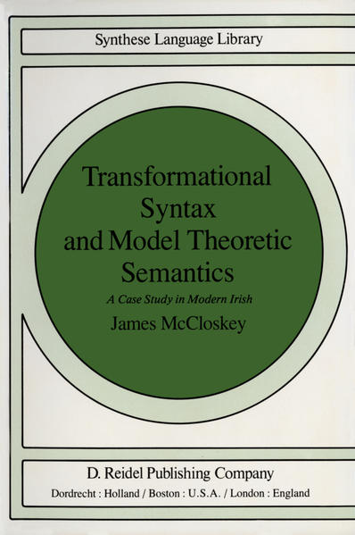 Transformational Syntax and Model Theoretic Semantics - Coverbild