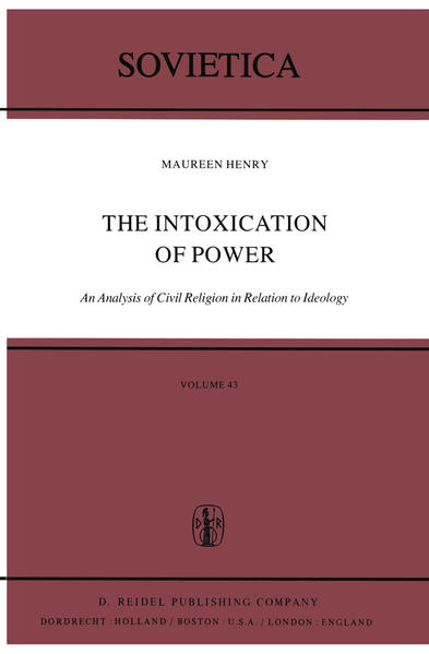 The Intoxication of Power - Coverbild