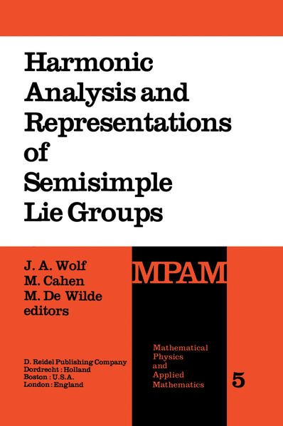 Harmonic Analysis and Representations of Semisimple Lie Groups - Coverbild