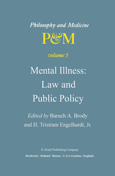 Mental Illness: Law and Public Policy - Coverbild
