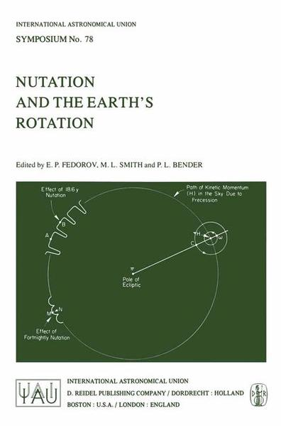 Nutation and the Earth's Rotation - Coverbild