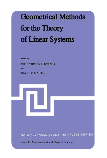 Geometrical Methods for the Theory of Linear Systems - Coverbild