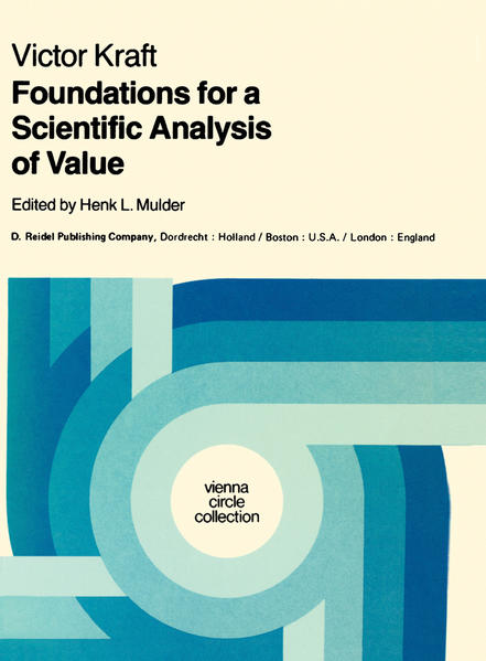 Foundations for a Scientific Analysis of Value - Coverbild