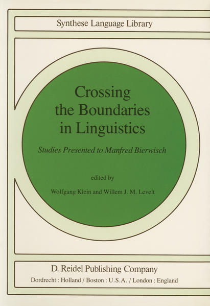 Crossing the Boundaries in Linguistics - Coverbild