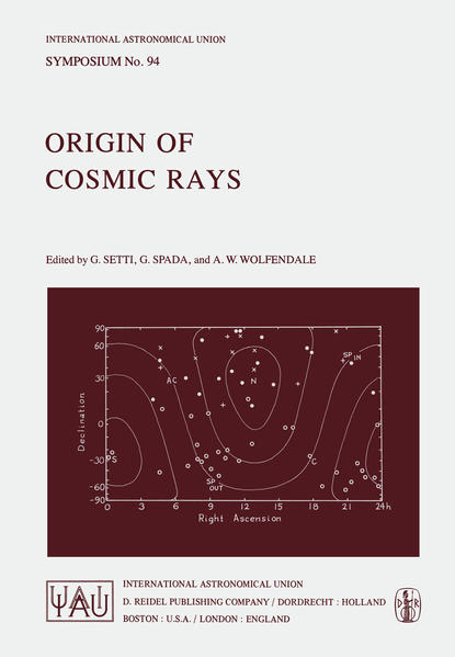 Origin of Cosmic Rays - Coverbild
